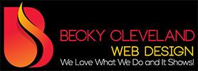 becky cleveland web design artist