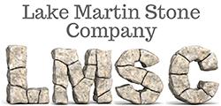 lake martin stone company logo